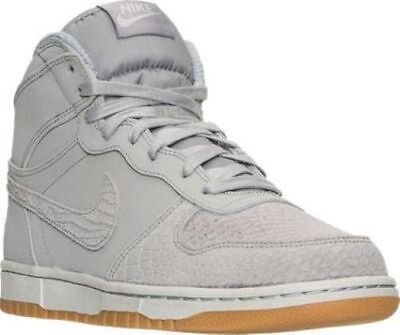 Nike Big High Lux Casual Sneakers Men Shoes Wolf Grey Gum *54165-002 Size 10 New