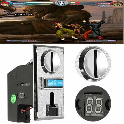 Multi Coin Acceptor Selector Thrower Insert for Arcade Vending Machine MM