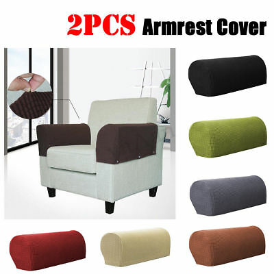1 Pair Universal Arm Chair Protector Sofa Couch Armchair Covers Armrest Stretch