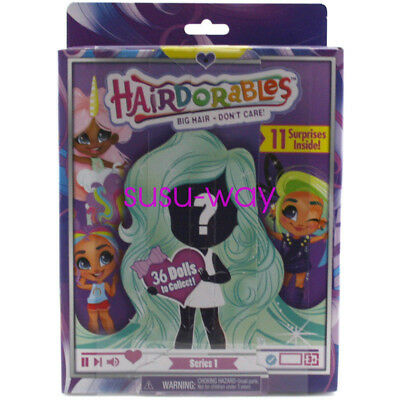 New UK Hairdorables Doll Surprise Pack 11 Surprises Inside Kids Toys XMAS Gift