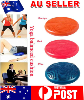 Yoga Balanced Cushion Inflatable Massage Thickened Ball Trainer Weight Loss Tool