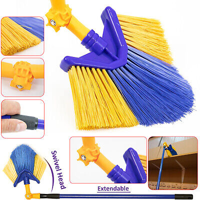 Telescopic Extendable Cobweb Dusting Duster Broom Brush Long Handle Cleaning