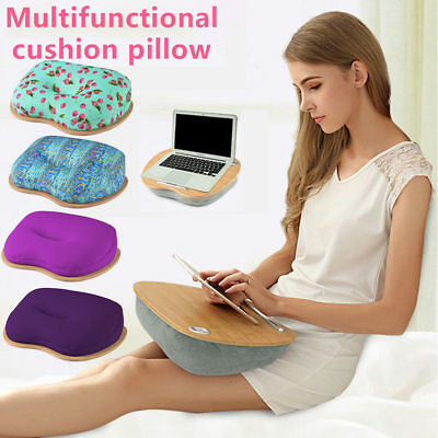 Multifunction Laptop Desk Holder Portable Bed Tray Cushion Table Sofa Pad Pillow