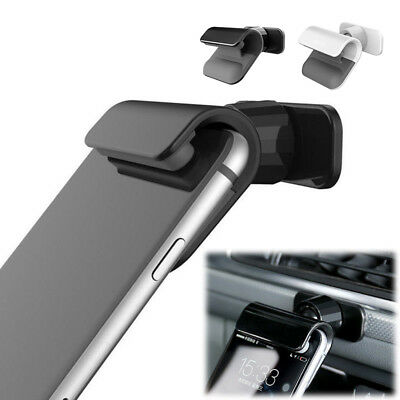 "Interior Gravity Car Phone Holder 4-7"" Mounts Stand For IPhone Samsung Universal"