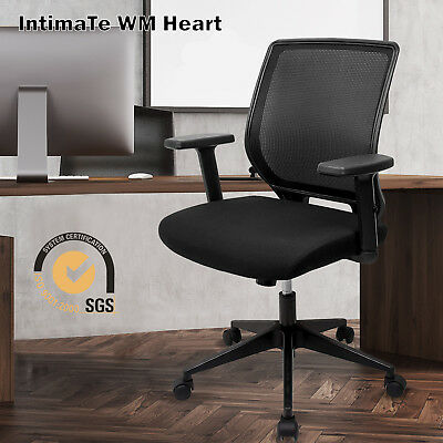 Executive Mesh Office Chair Office Computer Desk Chair Fabric Swivel Ergonomic