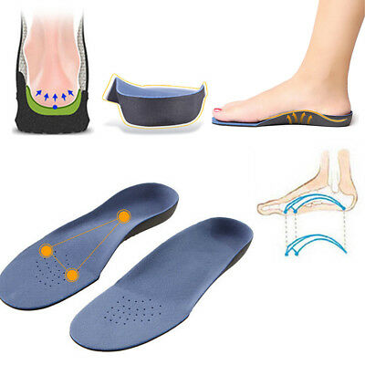 Orthopedic Insole For Flat Foot Health Sole Pad Shoes Arch Support Cushion UP UK