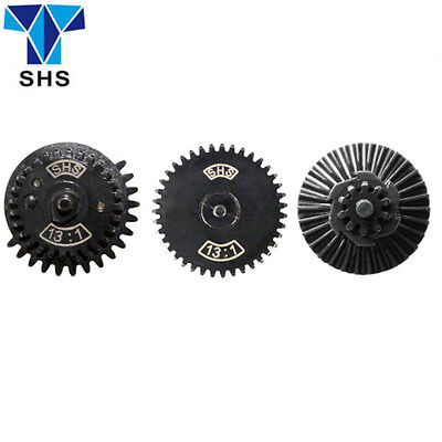 SHS AEG 13:1 Ultra-high Speed Gear Set For  Ver.2 / 3 Airsoft Gearbox Hunting US