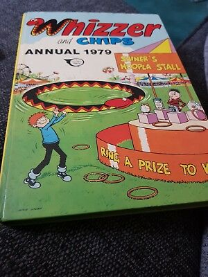The Whizzer And Chips Annual 1979 X GOOD CONDITION FOR AGE X 1227 X