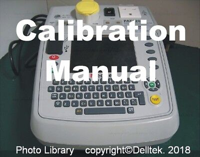 InfoPack - How to check your Pat tester calibration inc. leakage load & RCD test