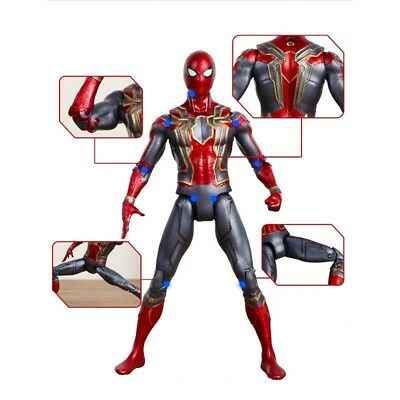 """Avengers 3 Infinity War Iron Spiderman 6"""" Spider-Man Action Figure Toys Gifts UK"""