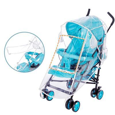 Universal Weather Shield Stroller Rain Cover Canopy Pushchairs Standard Stroller