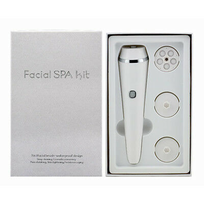 Multifunction Electronic Face Facial Cleansing Brush Spa Skin Care Massager W