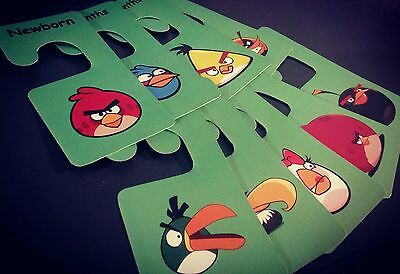 Baby clothes closet dividers. Angry birds. Newborn - 4T. CHD000004