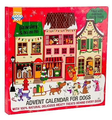 Armitage Christmas Dog Meaty Treats Advent Calendar Pawsley Festive Real Meat