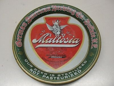 1910's GERMAN AMERICAN BREWING COMPANY TIN LITHOGRAPH ADVERTISING BEER TIP TRAY