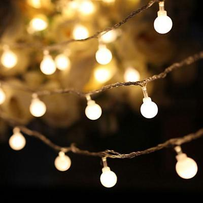 3-5m Fairy LED String Lights Christmas Round Ball Blubs Wedding Party Lamp Decor
