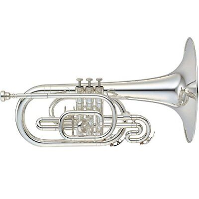 YAMAHA Japan YMP-204M Marching Mellophone Musical Music Instrument