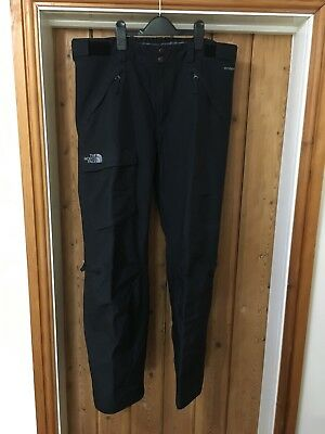 The North Face Hyvent Mens Ski Pants Black Excellent Condition