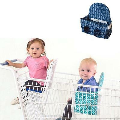 Portable Infant Supermarket Safety Shopping Cart Cover Baby Hammock Car Seat Pad