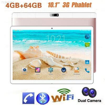 "10.1"" Inch Android 7.0 Tablet PC Quad-core 64GB Wifi Dual SIM Phablet GPS Gift"