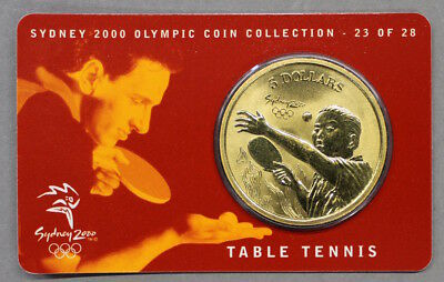 AGN - Australien Sydney 2000 - 5 Dollars - Table Tennis