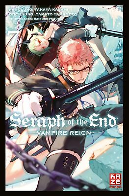 Seraph of the End 07 - KAZE 9782889217908 Manga
