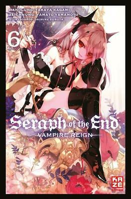 Seraph of the End 06 - KAZE 9782889217892 Manga