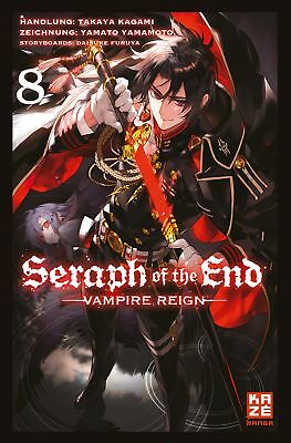 Seraph of the End 08 - KAZE 9782889217915 Manga