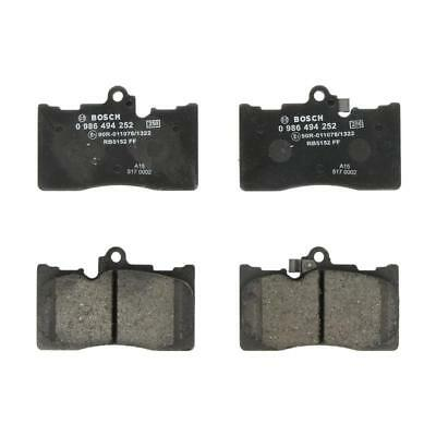 Wear Warning Contact Drivemaster DMP036 Front Brake Pads Fits Bosch System Incl