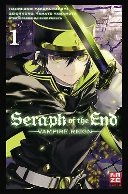 Seraph of the End 1 Takaya Kagami 9782889217847