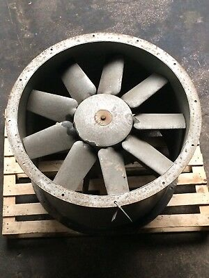 800mm Industrial / Commercial Cased Axial Flow Extractor Fan - 415v / 1450 Rpm