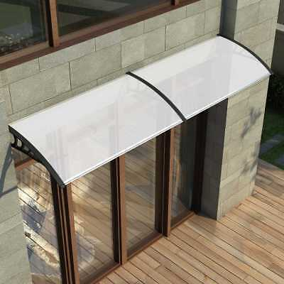 Door Canopy DIY Awning Shelter Front Back Porch Outdoor Shade Patio Rain Cover