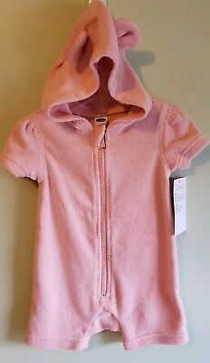 1aff82cf8d NEW Old Navy Infant Girls 3-6 MONTH Short Sleeve Swim Cover Up PINK Beach