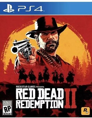 PS4 Red Dead Redemption 2 - NEW Fast Shipping!