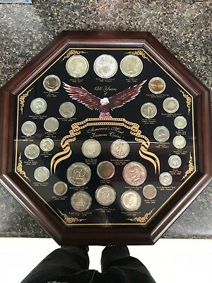 """""""150 Years of America's Most Famous Coins:"""" 29 Coin Collector Set in Deluxe Case"""