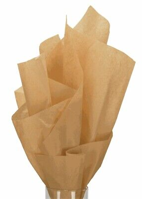 "480 Sheets Solid Kraft Tissue Paper Ream 20"" x 30"" - 11-01-8"