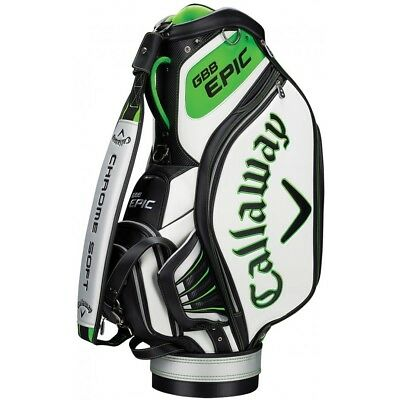 """Callaway Epic 10"""" Golf Tour / Staff Trolley Bag / As Used On Tour @ 50% Off Rrp"""
