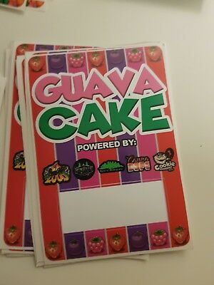 10x GUAVA CAKE BAG CALI TIN