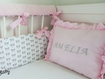 Personalised pillow baby name gift deco. Christening gift Christmas gift