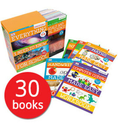 Everything I Need to Know for School: Key Stage 2 Collection - 30 Books