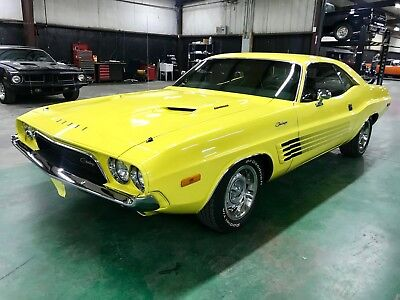 1973 Dodge Challenger Rallye 340 4 Speed 1973 Dodge Challenger