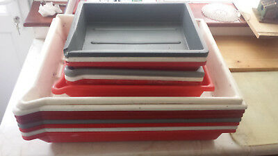 Darkroom developing trays (COLLECTION ONLY)