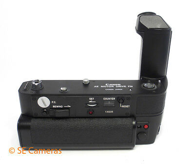 Canon Ae Motor Drive Fn & Battery Pack For Canon F1N Near Mint