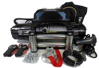 13500 lb 12v Heavy Duty electric recovery winch for off road and 4x4