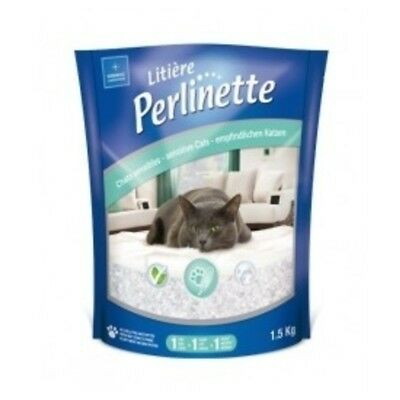 Litière Perlinette pour Chat Sensible - Demavic - 1,5Kg