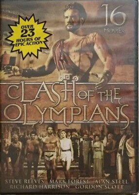 Clash of the Olympians - 16 Movies (DVD, 2010, 4-Disc Set) New In Factory Seal
