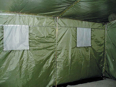 6 Man Army Tent Party Tent Marquee Bw Federal Army Olive Green for Six People