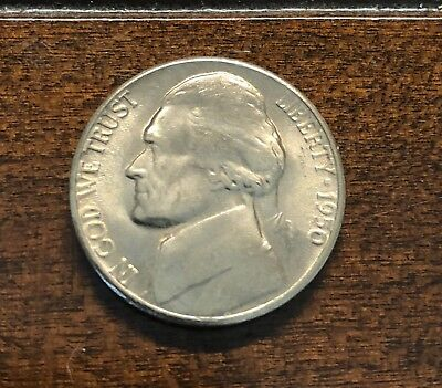 1950-D JEFFERSON NICKEL from B/U Uncirculated Roll  FREE SHIPPING - One (1) Coin