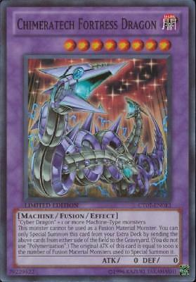 YuGiOh Chimeratech Fortress Dragon - CT07-EN013 - Super Rare - Limited Edition M
