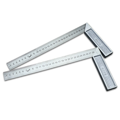 """Aluminum steel 300mm/12"""" Engineers Try Square Set Right Angle Guide With Level"""